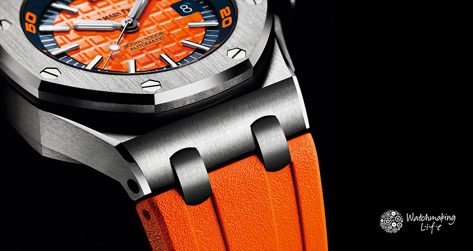 La colección Royal Oak Offshore Diver de Audemars Piguet se viste de color