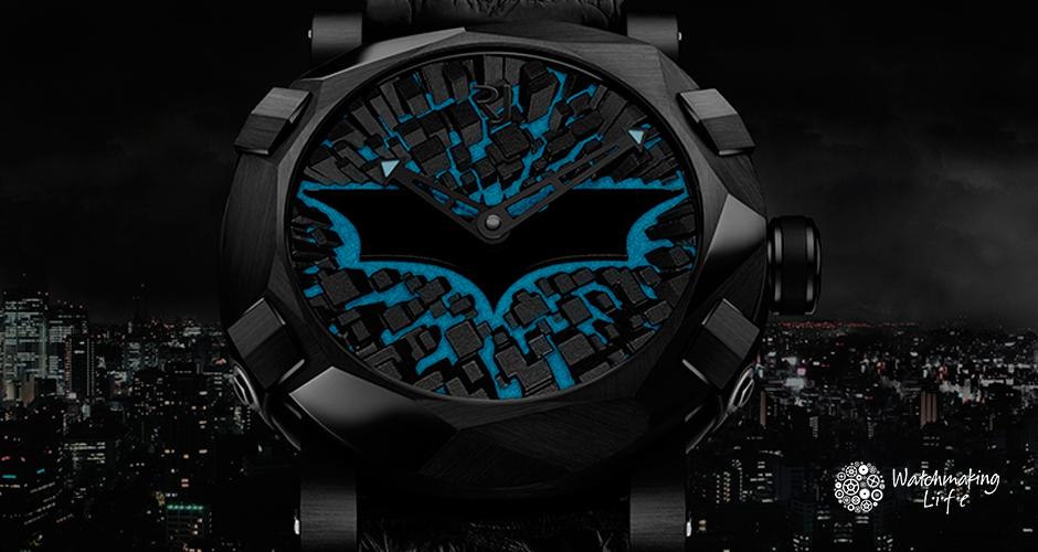 Batman, el Caballero de la Noche con Romain Jerome