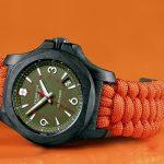 Orange, el color que pinta al I.N.O.X de Victorinox