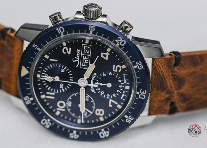 El Sinn 103 Sa B E Pilot Chronograph nuevo en BaselWorld