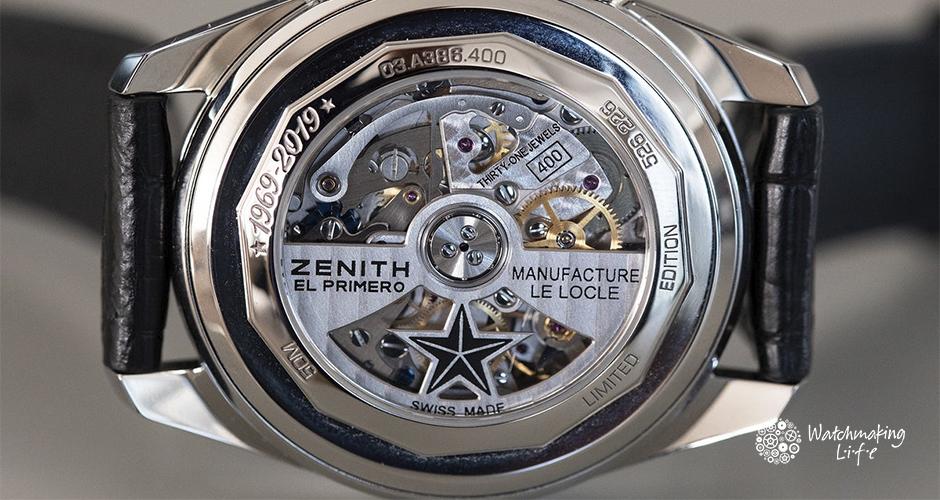 El aniversario de uno de los movimientos mas legendarios: El Primero de Zenith